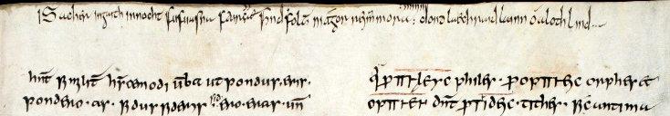 poem in old irish runes